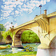 広瀬川と大橋
